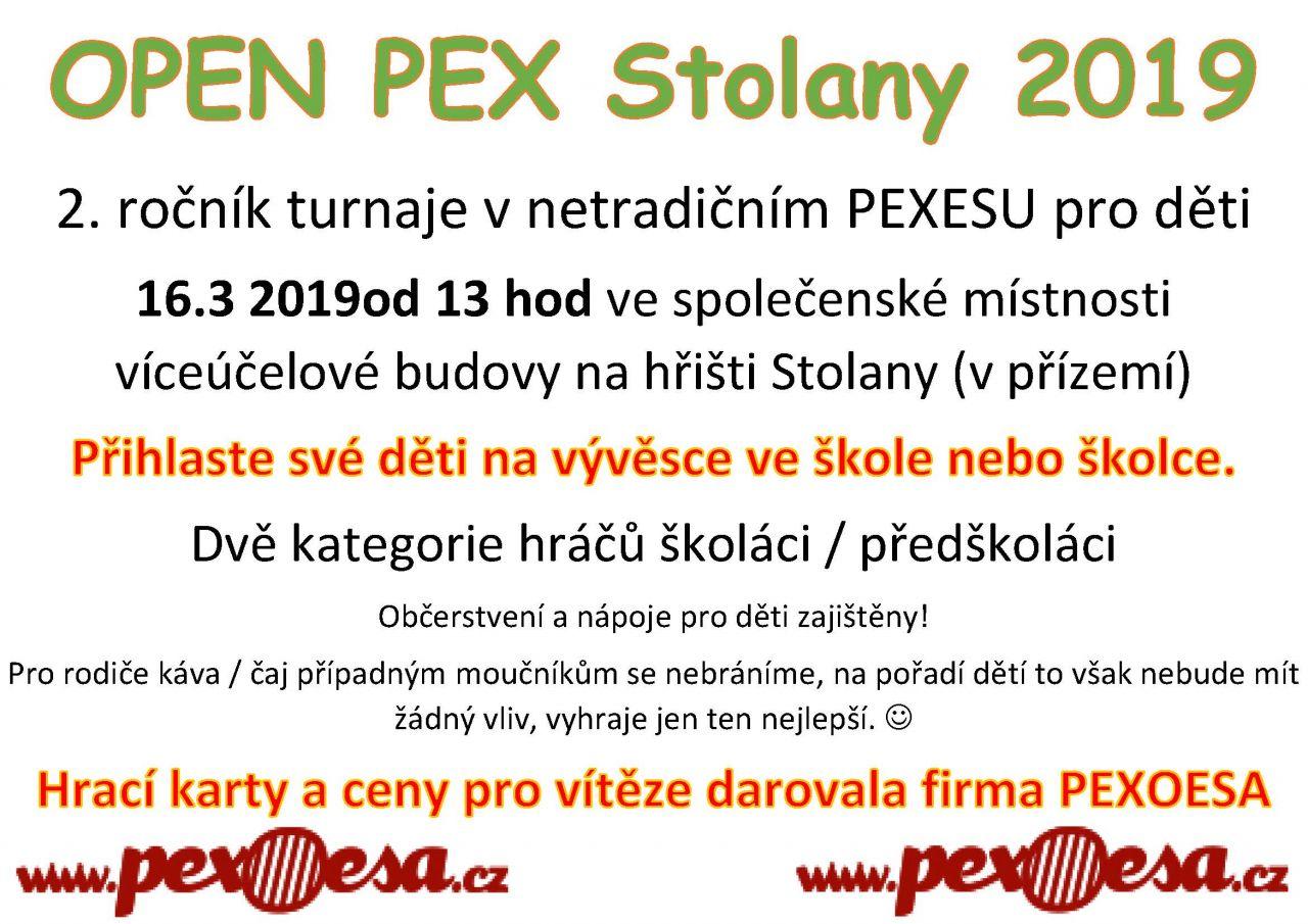 OPEN PEX Stolany 2019 1