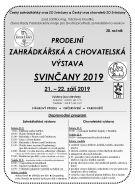 výstava Svinčany 2019